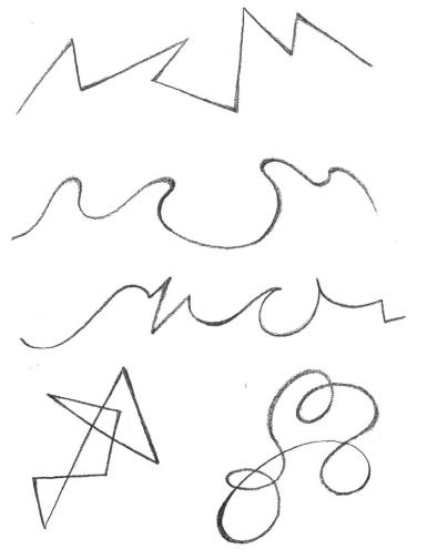 სხვადასხვა ტიპის ხაზები