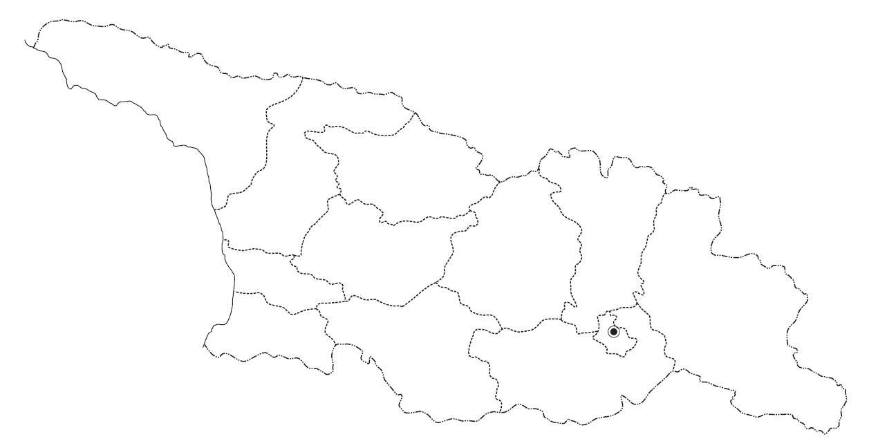 საქართველოს კონტურული რუკა